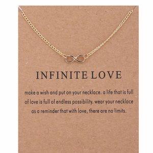 Jewelry - 4 for $25⚡️Dainty infinity necklace